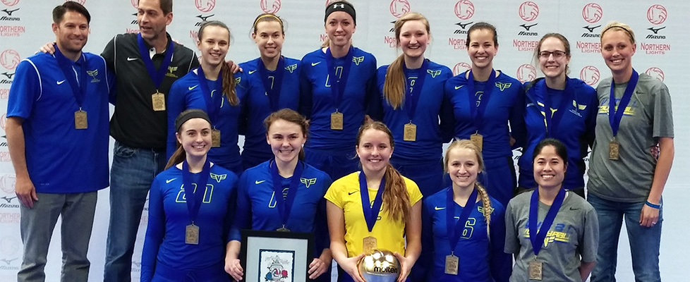 Vital Volleyball - 17s NLQ 2015 Champs