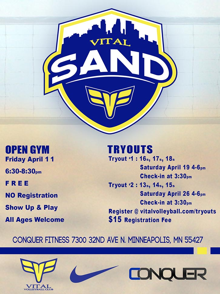 2014 Open Gym and Tryouts